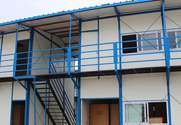 两层活动房宿舍